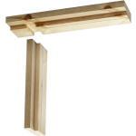 106mm Softwood Door Casing Trenched Head 762