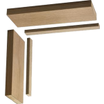 132mm Oak Door Lining Kit 762