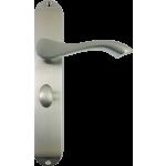 Algarve Bathroom Handles Satin Chrome