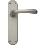 Idro Latch Door Handles Satin Nickel