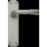 Idro Latch Door Handles Satin Nickel