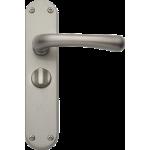 Idro Privacy Door Handles Satin Nickel