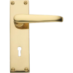 Victorian Sash Lock Door Handles Polished Brass