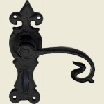 Shrewsbury Black Iron Bathroom Handle