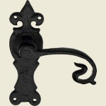 Shrewsbury Black Iron Latch Handle