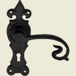 Shrewsbury Black Iron Lock Handle