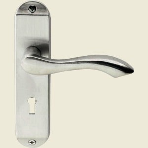 Broadway Satin Chrome Door Handles