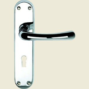 Clara Suite Polished Chrome Door Handles