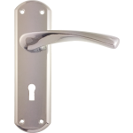 Garda Sash Lock Door Handles Polished Chrome