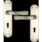 Genoa Satin Nickel Lock Handle