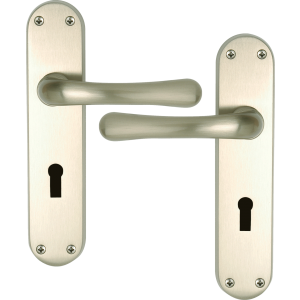 Genoa Satin Nickel Lock Handle
