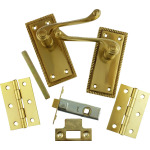 Georgian Brass-Ware Latch Lever Pack