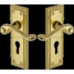 Georgian Brass Euro Profile Handles