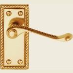 Georgian Brass Latch Handles