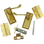 Georgian Brass-Ware Small Latch Lever Pack