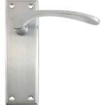 Hilton Latch Lever Handles Apollo Finish