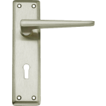 Lugano Sash Lock Door Handles Satin Nickel