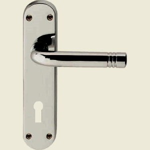 Porto Satin Chrome Door Handles