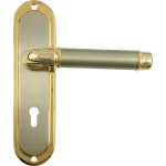 Saturn Jupiter Split Finish Sashlock Handles