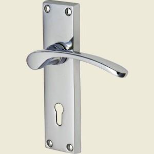 Sophia Polished Chrome Door Handles