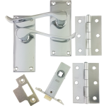 Victorian Scroll Latch Lever Pack