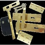 Victorian Brass-Ware 3-Lever Lock Pack