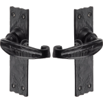 Antique Black Latch Handles