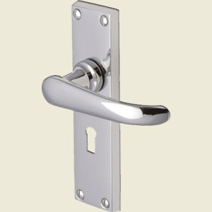 Windsor Polished Chrome Door Handles