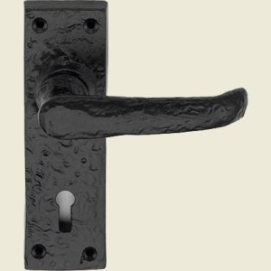 Windsor Black Iron Door Handles