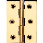 3 Inch 1838 Pattern Steel Hinge Electro Brass