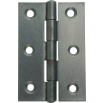 3 Inch 1838 Pattern Self Coloured Steel Hinge