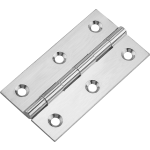 76 X 41 mm Cabinet Door Butt Hinge Polished Chrome