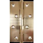 4 Inch Door Butt Hinge Self Coloured Brass