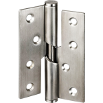 102mm Right Hand Rising Butt Satin Stainless Steel