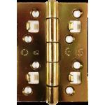 4 Inch Security Door Hinge Brass Plate