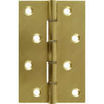 102mm DSW Butt Hinge Natural Brass
