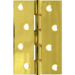 102mm DPBW Butt Hinge Polished Brass