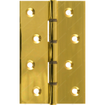 102mm DSW Butt Hinge Polished Brass