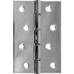 102mm DSW Butt Hinge Polished Stainless Steel