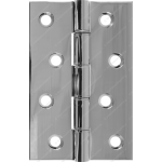 102mm DPBW Heavy Duty Hinge Polished Chrome