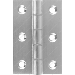 76mm DPBW Butt Hinge Satin Chrome