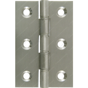 76mm DPBW Butt Hinge Satin Nickel