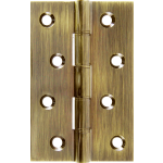 102mm DPBW  Butt Hinge Antique Brass