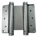 6 Inch Silver Double Action Spring Hinge
