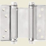 125mm Satin Stainless Steel Double Action Spring Hinge