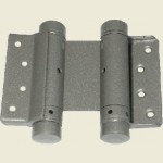 75mm Silver Grey Double Action Spring Hinge