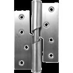 102mm Left Hand Rising Butt Satin Stainless Steel