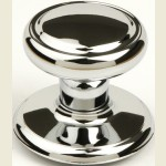 Diplomat Bright Chrome Wardrobe Knob