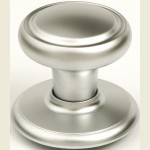 Diplomat Satin Chrome Wardrobe Knob