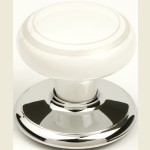 Henley Bright Chrome Wardrobe Knob